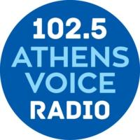 Logo de la radio ATHENS VOICE RADIO 102.5