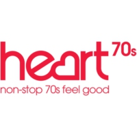 Logo of radio station Heart 70s