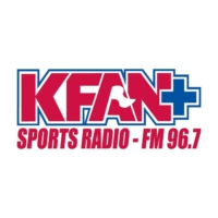 Logo of radio station KFAN Plus