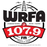Logo of radio station WRFA-LP 107.9 FM