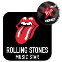 Logo of radio station Rolling Stones Music Star