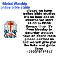 Logo de la radio GLOBAL WORSHIP