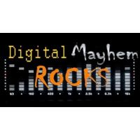 Logo of radio station Digital Mayhem Rocks