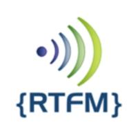 Logo of radio station RTFM