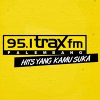 Logo of radio station 95.1 TRAX FM PALEMBANG