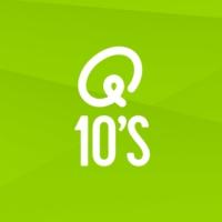 Logo of radio station Q-10's