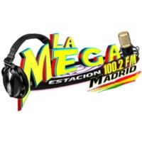 Logo of radio station La Mega Estación