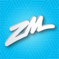 Logo of radio station ZM