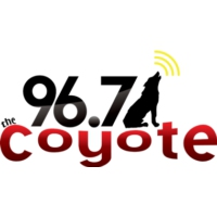 Logo de la radio KCYT 96.7 The Coyote