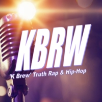 Logo of radio station K-BREW Truth Rap & Hip Hop Music
