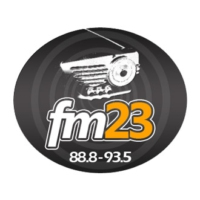 Logo of radio station 23 FM