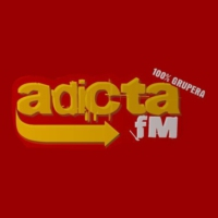 Logo of radio station Adicta FM