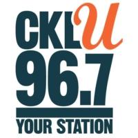 Logo of radio station CKLU 96.7FM