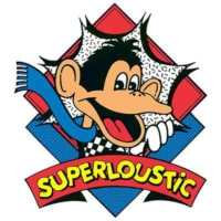 Logo of radio station SuperLoustic