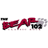 Logo of radio station KHXS The Bear 102