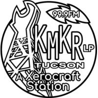 Logo of radio station KMKR Radio 99.9FM