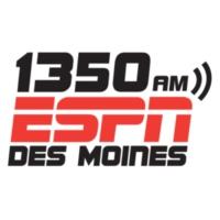 Logo of radio station 1350 ESPN Des Moines