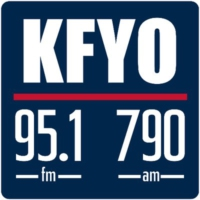 Logo of radio station KFYO Radio
