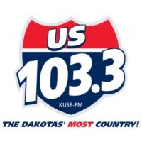 Logo of radio station KUSB 103.3 US Country