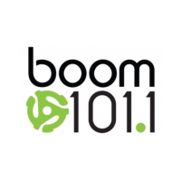 Logo of radio station CIXF-FM boom 101.1