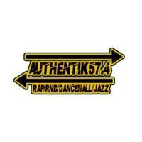 Logo de la radio Authentik 57.4