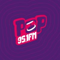 Logo de la radio Rádio POP 95,1 FM
