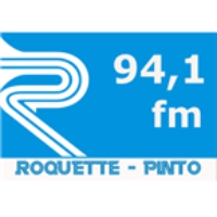 Logo of radio station FM 94 Roquete Pinto