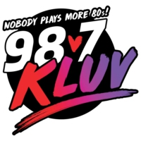 Logo of radio station 98.7 FM KLUV
