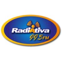 Logo of radio station RadiAtiva FM