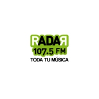 Logo of radio station XHQRO Radar 107.5 FM