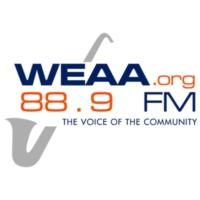 Logo de la radio WEAA 88.9FM