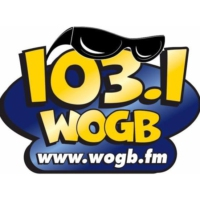 Logo of radio station 103.1 WOGB