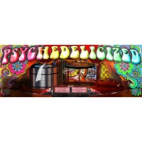 Logo of radio station Psychedelicized