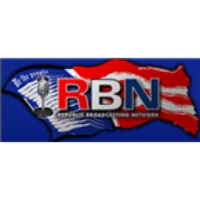 Logo of radio station RBN Republic Broadcasting Network