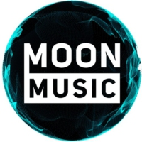 Logo of radio station MOON MUSIC KPOP