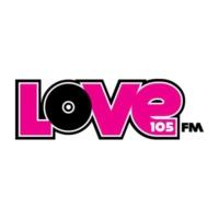 Logo of radio station WGVX Love 105 FM