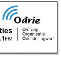 Logo of radio station Omroep Odrie