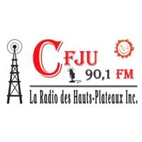 Logo of radio station CFJU 90.1 FM