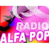 Logo de la radio Alfa Pop