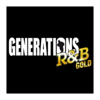 Logo of radio station Générations R&B Gold