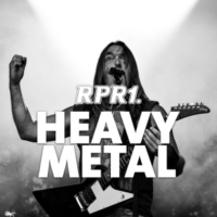 Logo of radio station RPR1. Heavy Metal