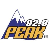 Logo of radio station KKPK 92.9 Peak FM