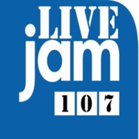 Logo of radio station Live Jam 107