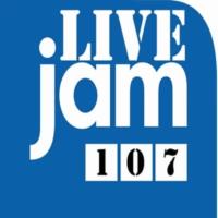 Logo of radio station Live Jam 107