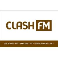Logo of radio station CLASH FM