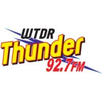 Logo of radio station WTDR Thunder 92.7
