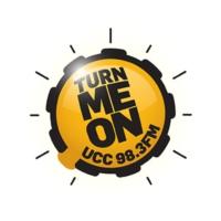 Logo of radio station UCC 98.3FM