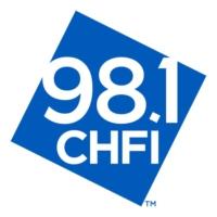 Logo of radio station 98.1 CHFI