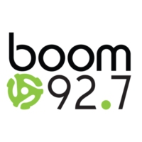 Logo of radio station CHSL-FM boom 92.7
