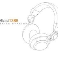 Logo de la radio Blast 1386